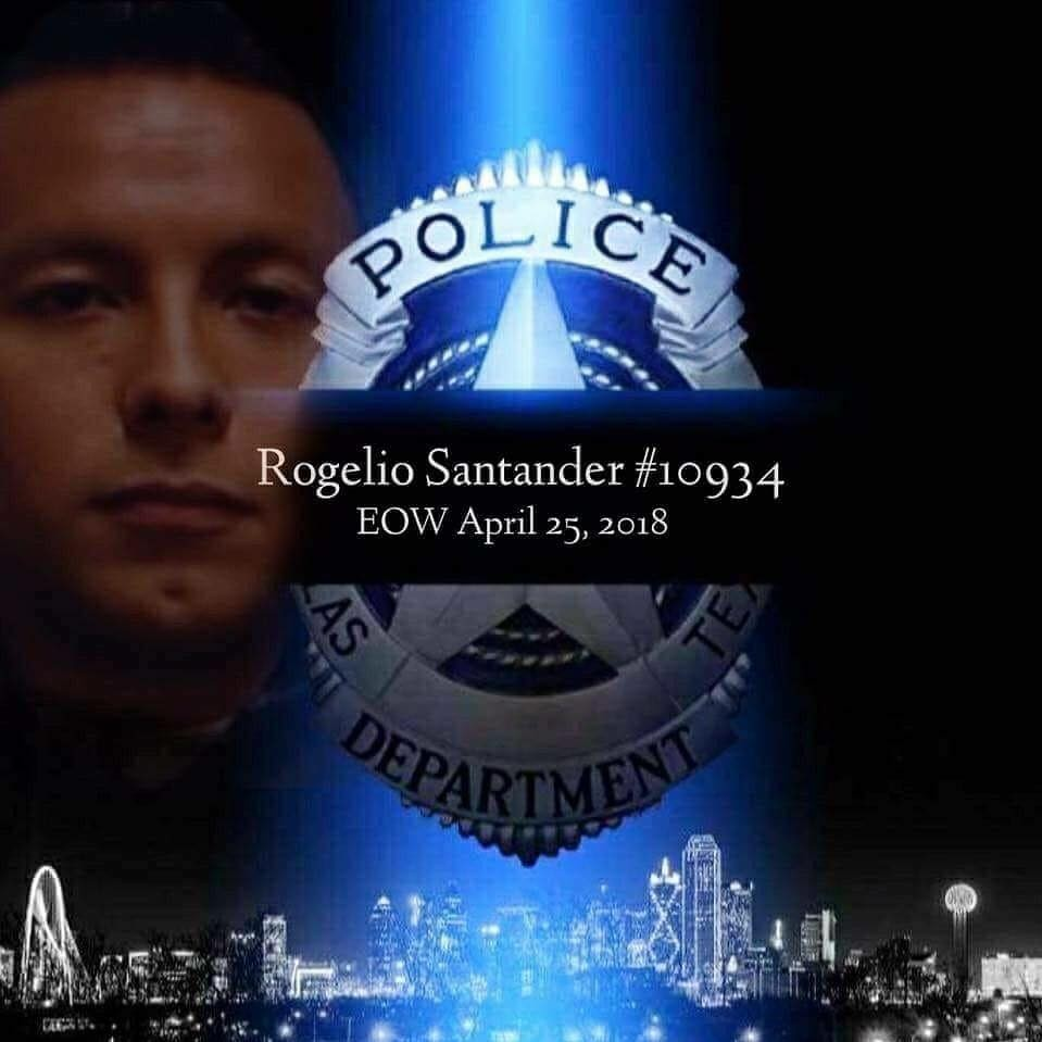 Candlelight Vigil for Officer Rogelio Santander
